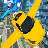Uçan Araba Simülatörü 3D